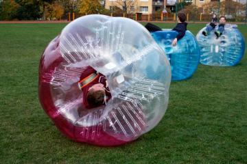 BUMPER BALL 1,55m COLOR TPU - Bumperball 1,5m COLOR TPU