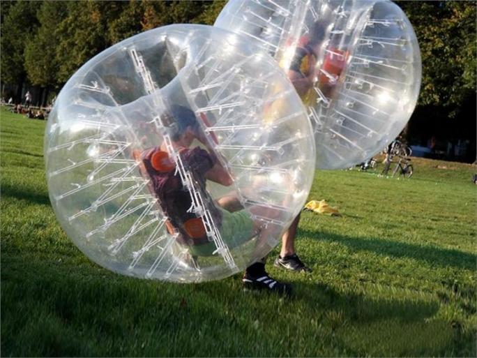 BUBBLEBALL 1,55m TRANSPARENT TPU