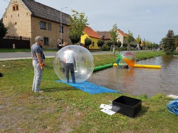 COLOR TPU - water walking ball waterball aquazorbing zorbing aqua zorb boule palle lopty aquasfere bubble zorbing